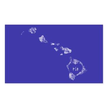 Hawaiian Themed Used I Love Hawaii State Stickers