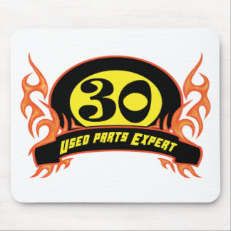 Used Parts 30th Birthday Gifts Mousepad