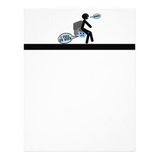 Used Toilet Letterhead Design