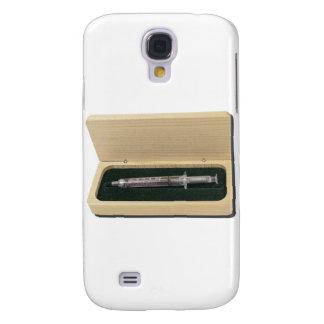UsedSyringeWoodenBox070111 Galaxy S4 Cases