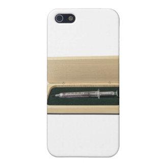 UsedSyringeWoodenBox070111 iPhone 5 Case