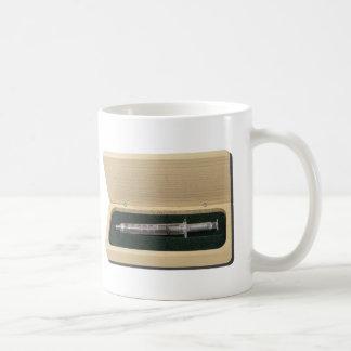UsedSyringeWoodenBox070111 Mug