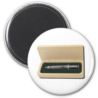 UsedSyringeWoodenBox070111 Refrigerator Magnets