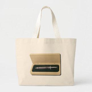 UsedSyringeWoodenBox070111 Tote Bag