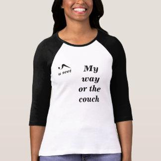 Useet My Way Ladies Raglan T-Shirt