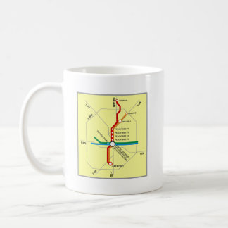 Useful Atlanta Subway Map Coffee Mug