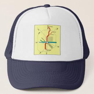 Useful Atlanta Subway Map Trucker Hat
