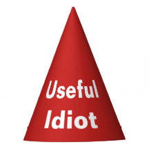Useful Idiot Party Hat