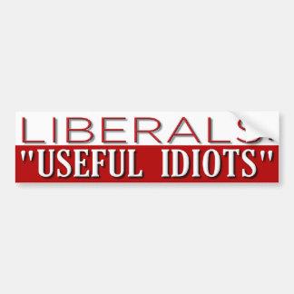 Useful Idiots Car Bumper Sticker