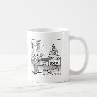 Useful & Useless Screws Classic White Coffee Mug