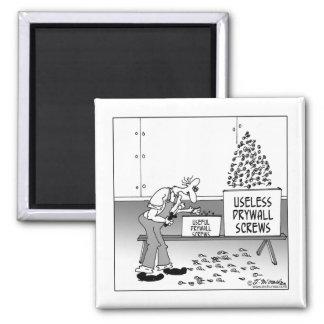Useless Drywall Screws Magnet