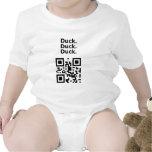 Useless QR Code: Duck Baby Bodysuits