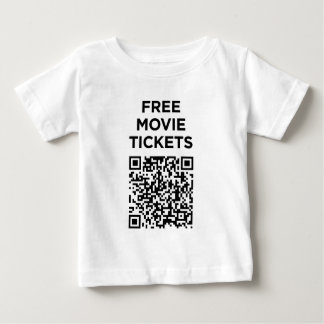 Useless QR Codes: Movie Tickets Baby T-Shirt