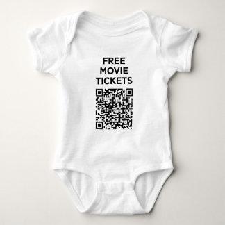 Useless QR Codes: Movie Tickets Shirt
