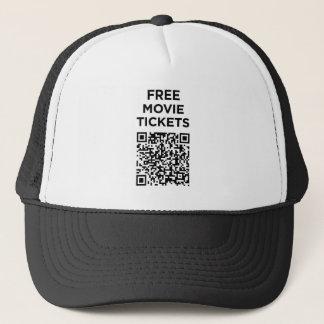 Useless QR Codes: Movie Tickets Trucker Hat