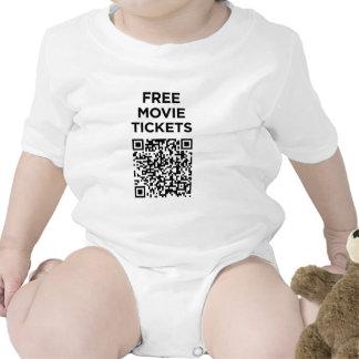 Useless QR Codes: Movie Tickets Tshirts