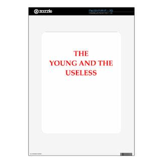 USELESS SKINS FOR THE iPad