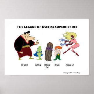 Useless Superheroes Poster