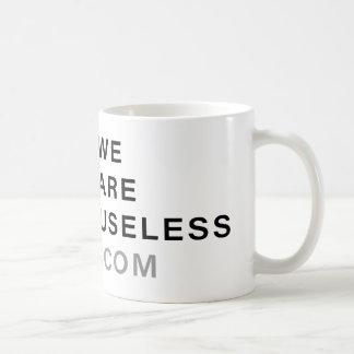 Useless White Mug