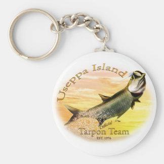 Useppa Island Tarpon Team Products Keychains