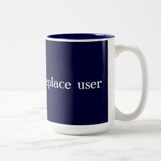 User Error Error Code Two-Tone Coffee Mug