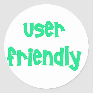 User Friendly Computer Products Sticker