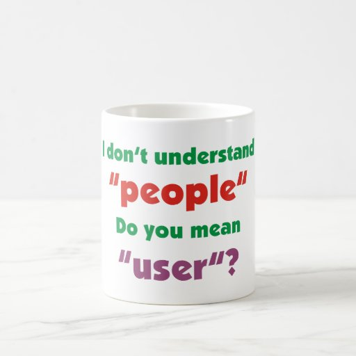user people taza clásica