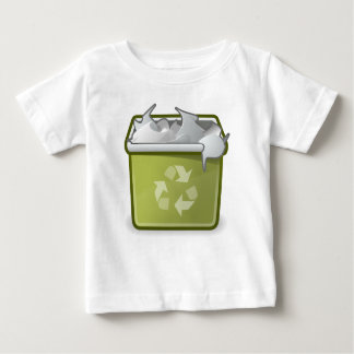 User Trash Full Baby T-Shirt