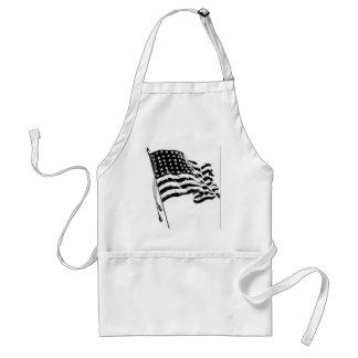 usflag1 adult apron