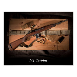 USGI M1 Carbine Poster