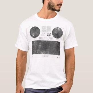 USGS Map of Jupiter Moon Callisto T-Shirt