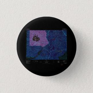 USGS Topo Map Washington State WA Mount Rainier 24 Pinback Button