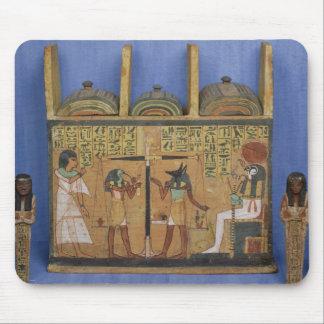 Ushabti casket with a scene of psychostasis mouse pads
