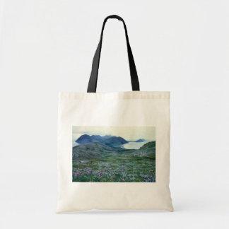 Ushagat Island in the Barren Islands Canvas Bags