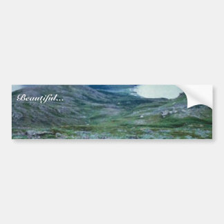 Ushagat Island in the Barren Islands Bumper Sticker