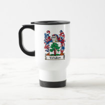 Ushakov Family Crest Mug
