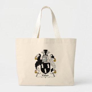 Usher Family Crest Bag