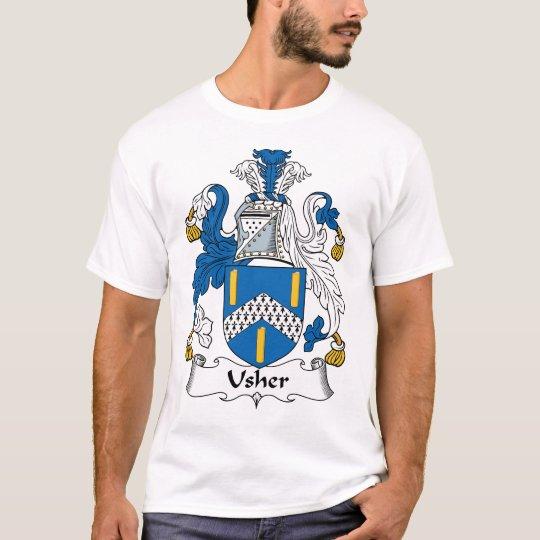 Usher Family Crest T-Shirt