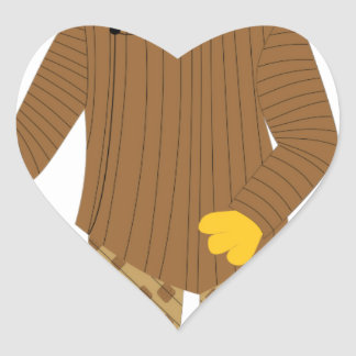 Usher Heart Sticker