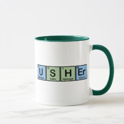 Combo Mug with Usher design
