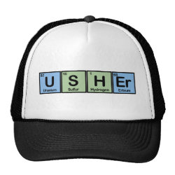 Usher Trucker Hat