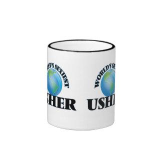 Usher más atractivo del mundo taza