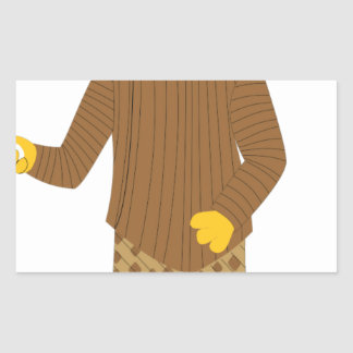 Usher Rectangular Sticker