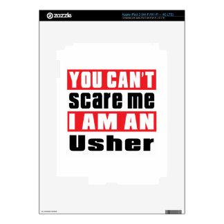 Usher scare designs skin for iPad 3