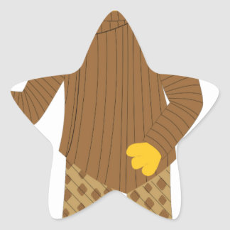 Usher Star Sticker