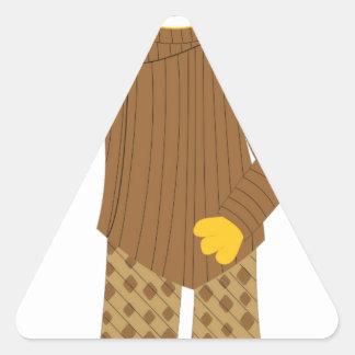 Usher Triangle Sticker