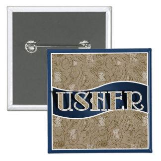 Usher's Pin / Button