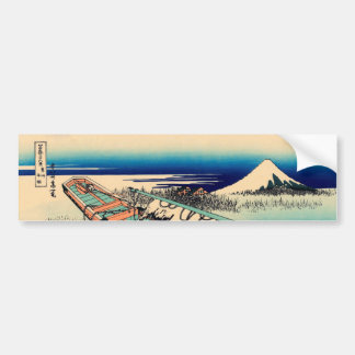 Ushibori in Hitachi Province Bumper Sticker