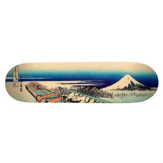 Ushibori in Hitachi Province Skateboard Deck