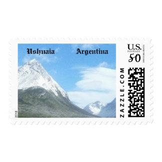 Ushuaia countryside (BASIC design) Postage
